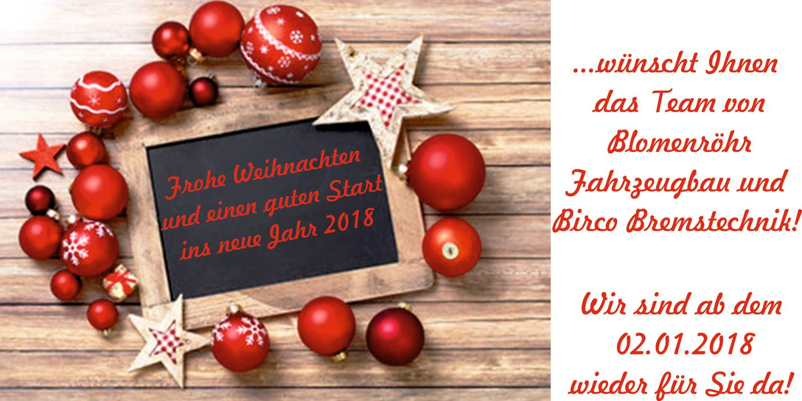 Wir Wünschen Euch Frohe Und Besinnliche Weihnachten.Frohe Weihnachten Merry Christmas Blomenröhr Fahrzeugbau